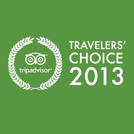 2013 TripAdvisor Travelers' Choice Award. We Are #2 Out Of The Top 25 Hotels In The Caribbean