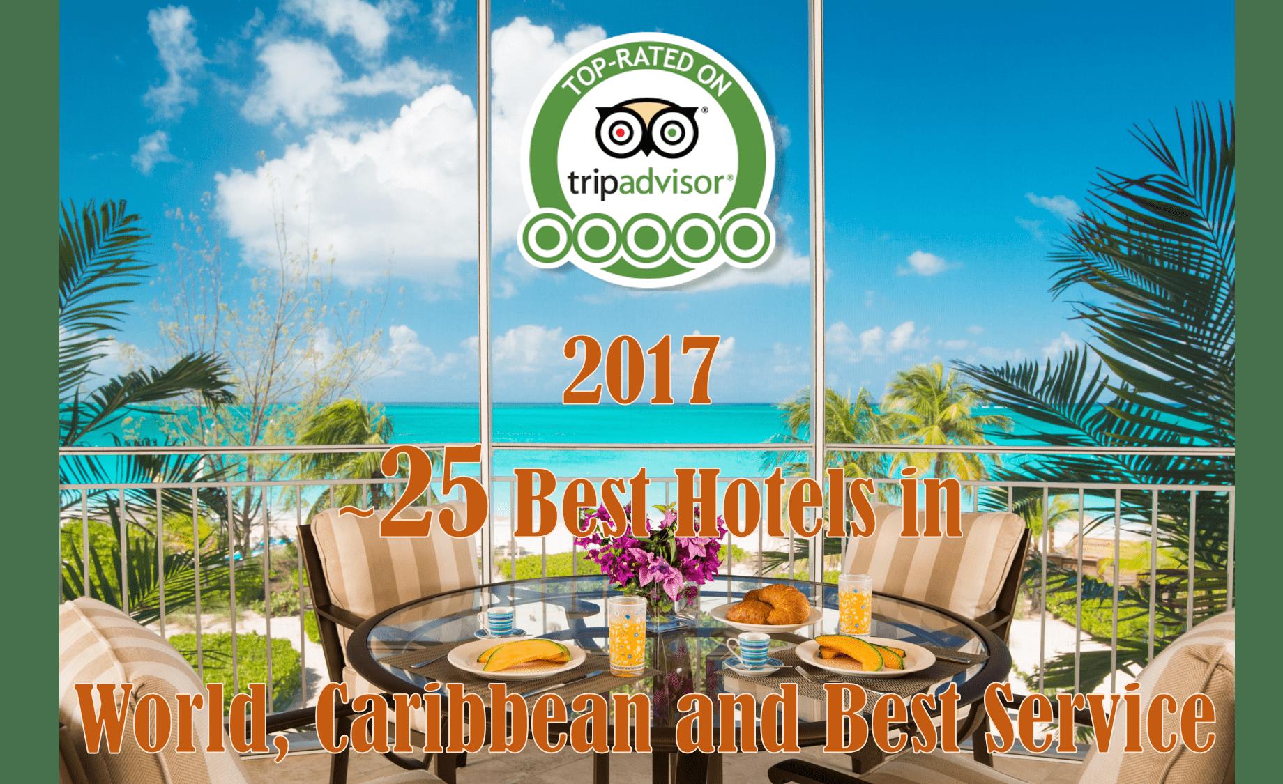 2017 Tripadvisor Awards