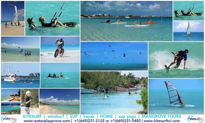 SUP And Kayak Rentals On Grace Bay Beach: Water Play