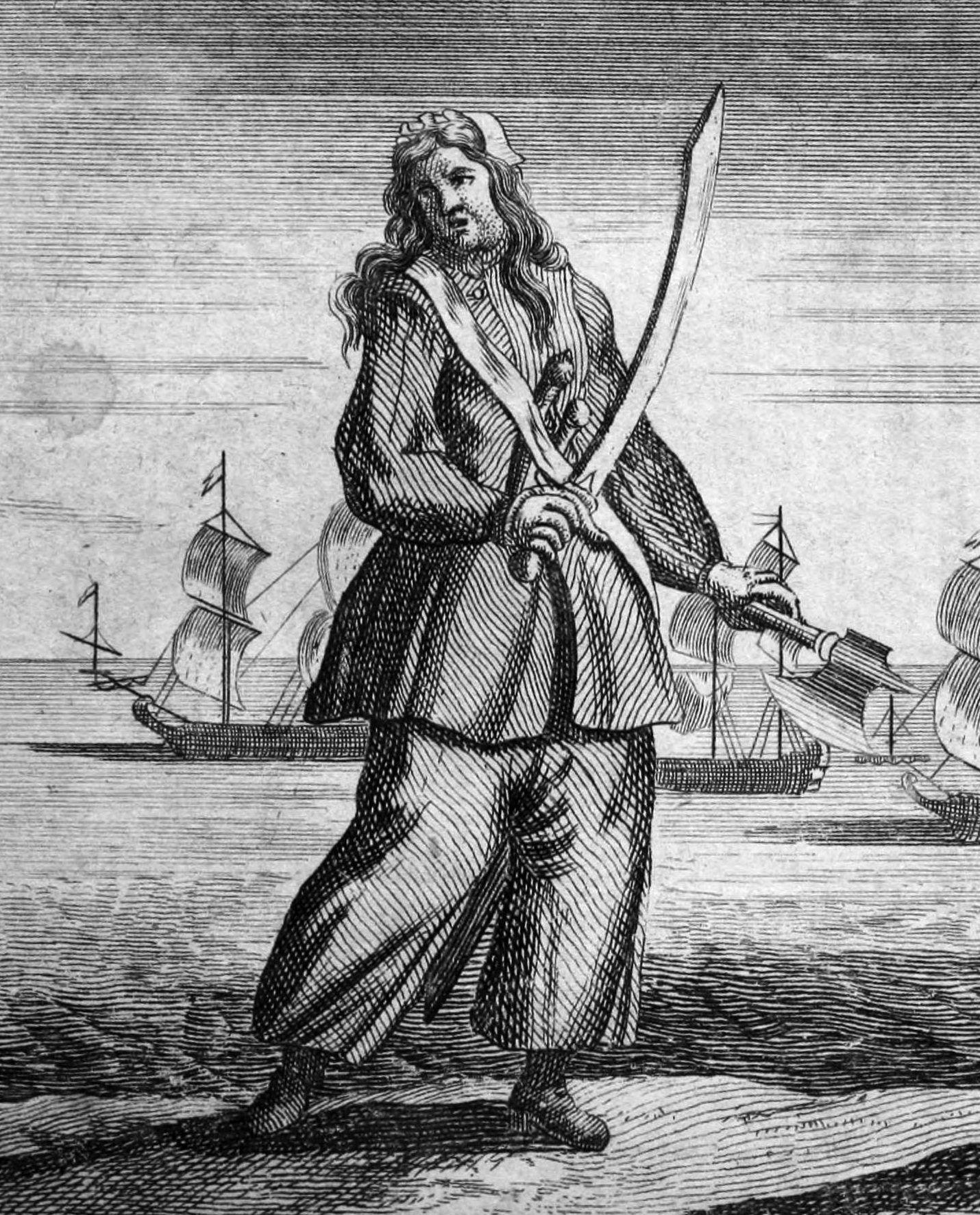Pirate Ann Bonny Turks and Caicos