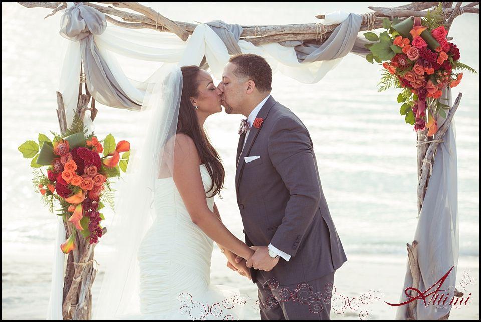 Tropical Caribbean Beach Wedding Lindsey & Jonathan