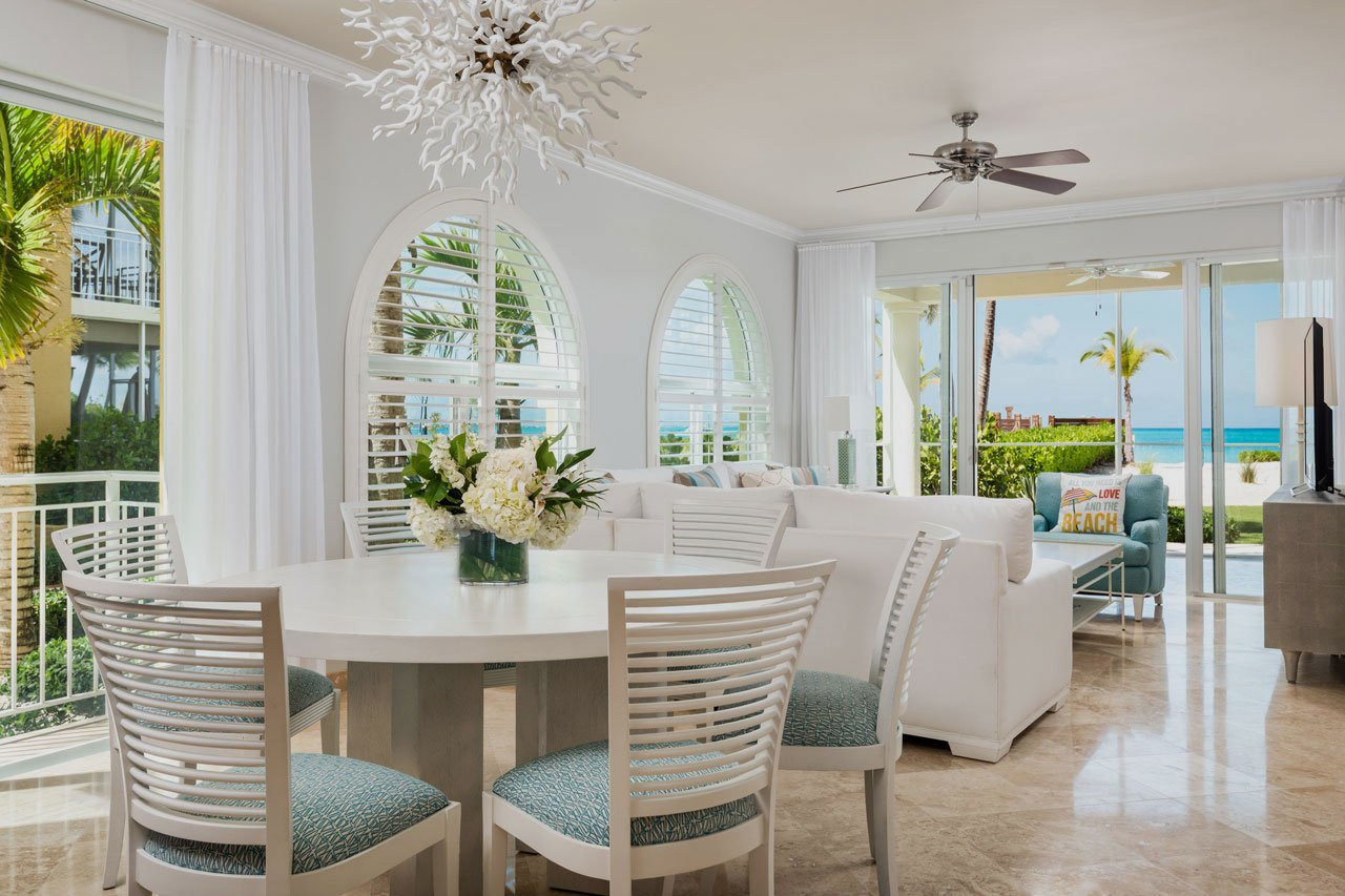 View of a suite at the Tuscany on Grace Bay resort.