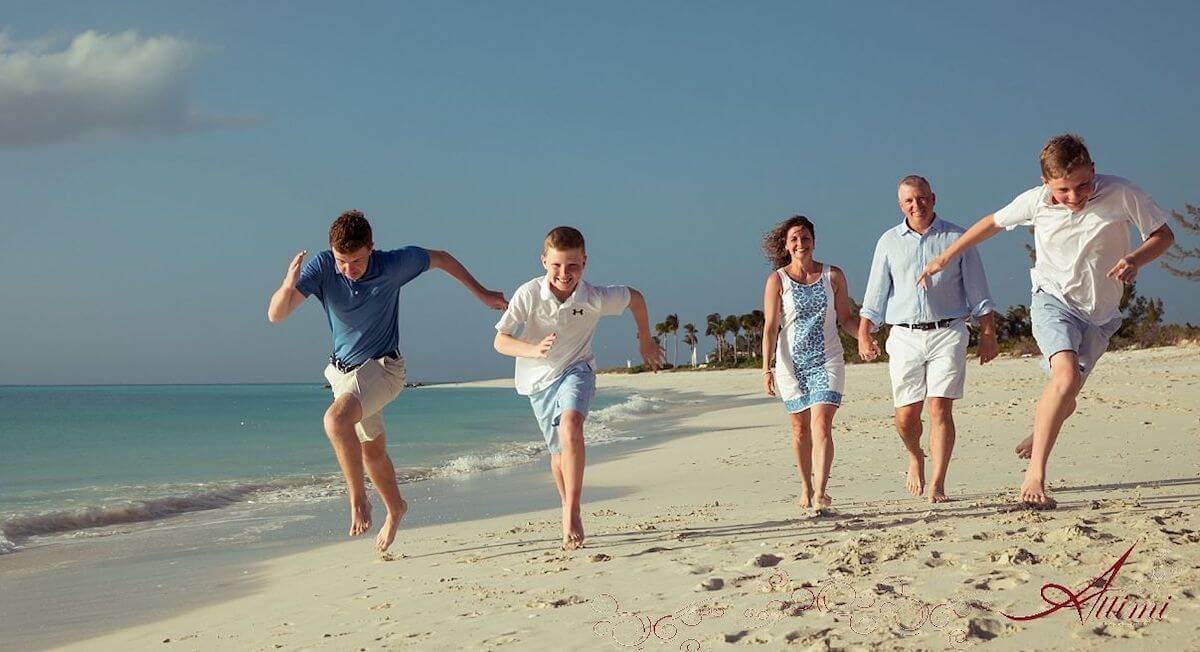 Providenciales, Turks and Caicos is one of the best islands for family vacations.