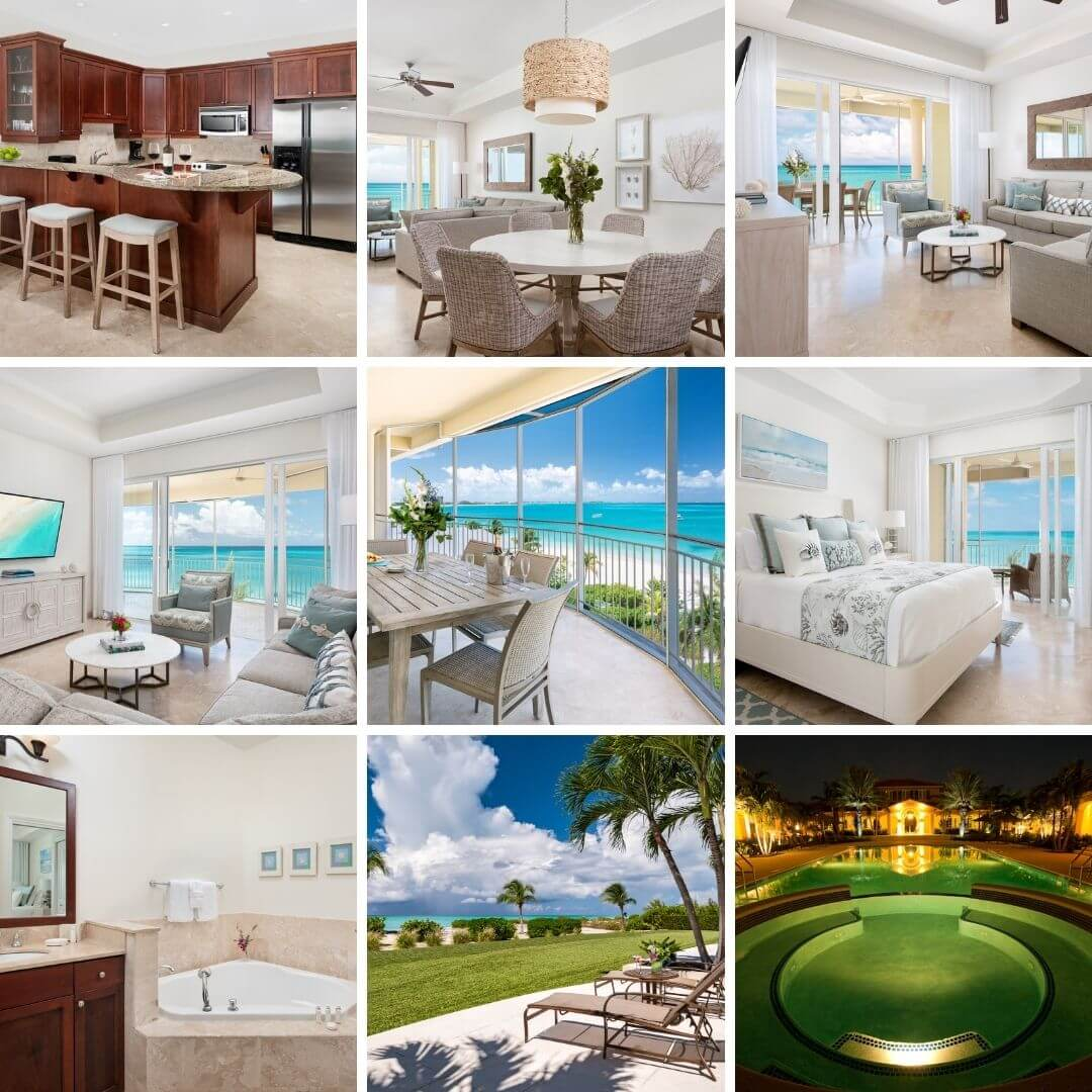 The Tuscany Resort on Grace Bay Beach in Providenciales, Turks and Caicos.